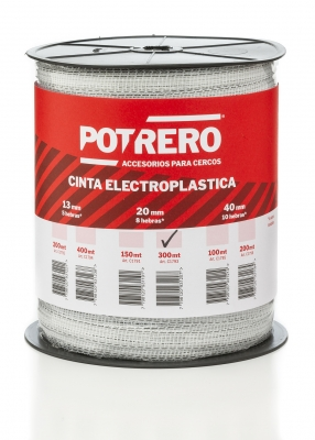 <b>CINTA ELECTROPLÁSTICA TURBO 20mm x 300mt</b>